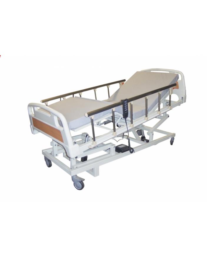 pat spital electric 3 sectiuni laterale colapsabile